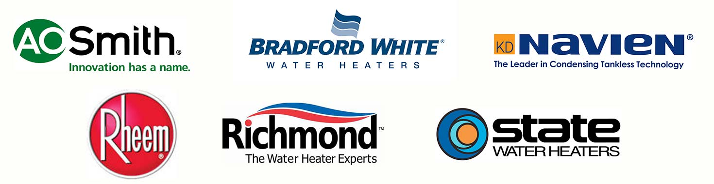 Water heater manufacturer logos