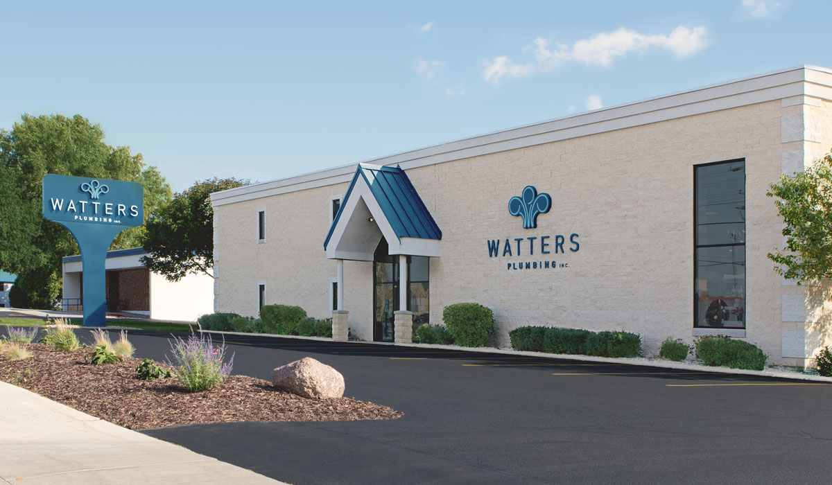 Watters Plumbing office and showroowm