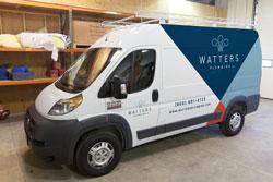 Watters Plumbing truck